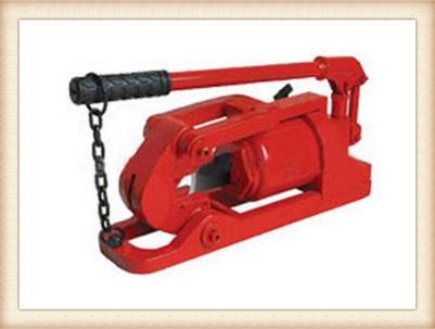 液压钢丝绳切断器使用方法
